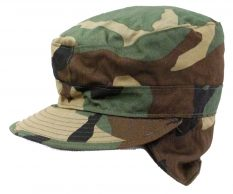 GI 1st Quality Combat Cap With Ear Flaps