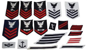 GI Current Issue Assorted US Navy Patches – 100pk