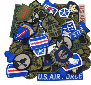 GI Assorted Military Patches – 100pk