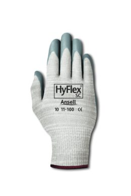 Ansell – HyFlex 11-100 Precision Protection Range X-Static High performance Gloves  (perfect for the electronic industry)