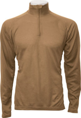 Beyond – Layer 1B Combat Uniform 1/4 Zip Midweight Long Sleeve Crew Shirt