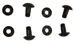 GI ACH Helmet Set Of 4 Screws & 4 Posts