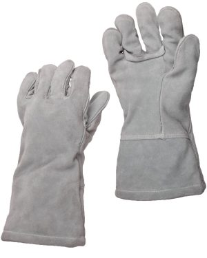 Ansell – Heavy Duty Welding Glove Cowhide – Cuff Material Extended Gauntlet – Lining Material Wool