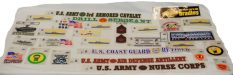 An Assortment of Military Stickers – 100 Pack