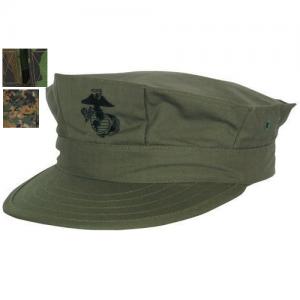 GI-8 Point Rip Stop Hat With USMC Emblem