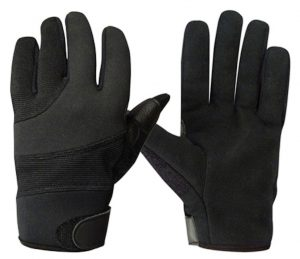 Rothco Street Shield Leather Gloves With 100% Kevlar Lining