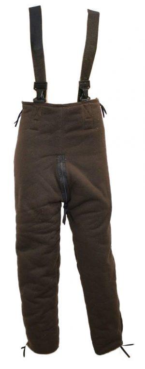 GI Brown Bear Pants With Suspenders
