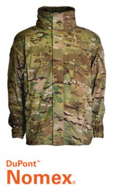 FR ECWCS Gen 4 – Level 5 Zippered TenCate Defender Fabric Soft Shell Jacket
