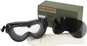 GI Sun/Dust/Wind Goggles With Two Lenses