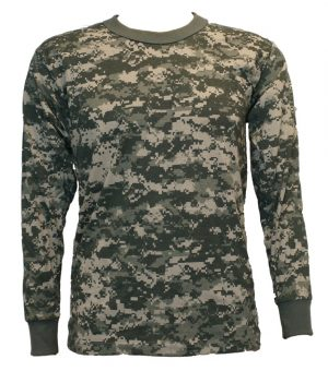 Adult 219 Camo Long Sleeve Tshirt