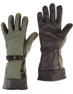Nomex Armid Flame Resistant Goatskin Leather Fuel Handler Glove With Gore Tex Lining