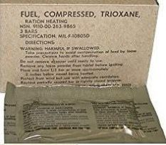 GI Fuel – Compressed – Trioxane Ration Heating – Pack of 3