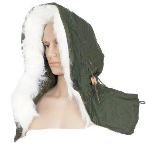 GI Fishtail Parka Hood With Fur