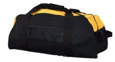 Two Tone Gym Bag/Small Duffel