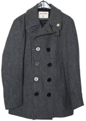 Men's Wool Fidelity Double Breasted Peacoat – Long 3/4 – 8 Buttons