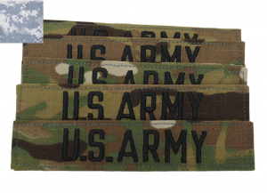GI US Army Velcro Patches – 10pk