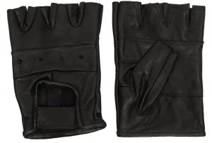 Lamb's Leather Finger-Less Glove With Velcro Adjustable Closure – Pack Of 12 Pair