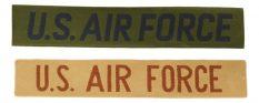 "GI ""U.S. AIR FORCE"" Chest Name Tapes – 50pk"