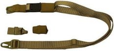Eagle Industries Rifle Sling – 3 Point Adjustable – 1  Inch  Width – Khaki
