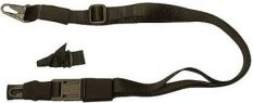 Eagle Industries Rifle Sling – 3 Point Adjustable – 1  Inch  Width – Black