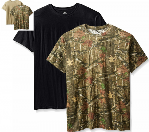 Mossy Oak Crew Neck Short Sleeve T-Shirt – 2 Pack