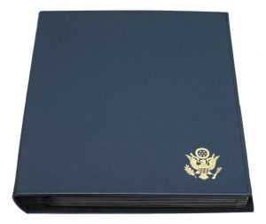 Hard Cover United States Commemorative Gallery Medal Display