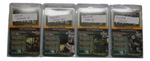 Face Away Camo Strips – 32 Strips In Realtree And Mossy Oak Designs – Stick-On/ Peel-Off Face Camouflage