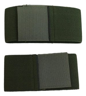 "2"" Boot Blousers Velcro Blousing Garters – 1 Pair"