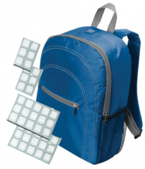 Chill By FlexiFreeze Backpack Cooler With Removable Sheets For Ice Cubes