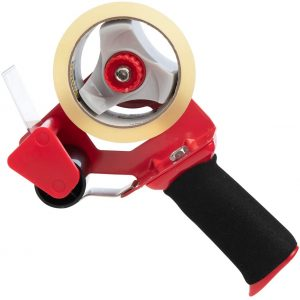 Scotch Tape Pistol Grip Dispenser + 1 Roll 3M Packing Tape – 1.88 Inch X 54.6 Yards