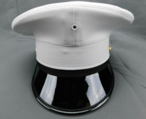 USMC US Marine Enlisted Dress Cap Crown Replacement Cover