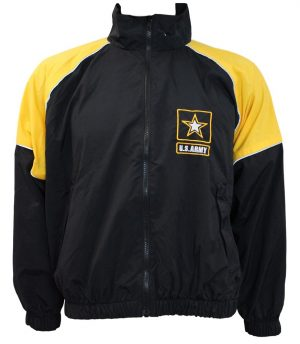 GI U.S. Army Physical Fitness APFU Recruiting Jacket With U.S. Army Star Logo