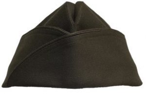 GI Vintage Military AG-344 Type 1 Class 4 Poly/Wool Garrison Cap Hat