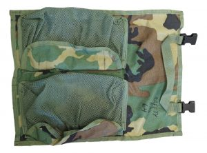 Molle Ll Large Pouch With Two Net Velcro Pockets