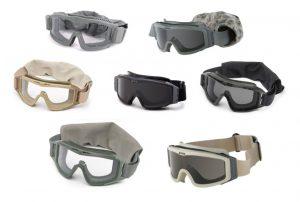 GI Assorted Military Goggles – Black, Foliage & Tan