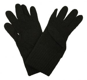 Wool/Nylon Glove Liners – Made In The US by a Government Manufacturer – Black – IRR