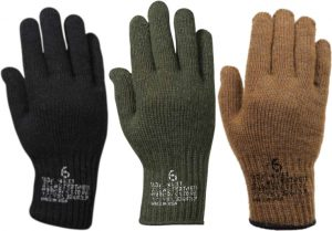 GI US Military Glove Insert Cold Weather Liners – First Quality – Type II Class I