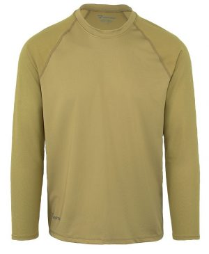 Bates  – Men's Performance Long Sleeve T-shirt