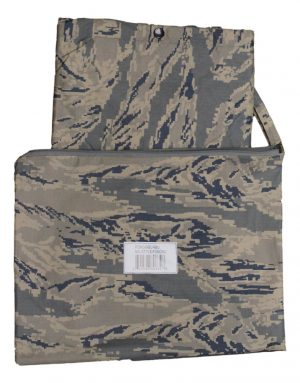 Dakota Outerwear – US Air Force Mil Style Poncho With Zippered Carrying Bag – ABU